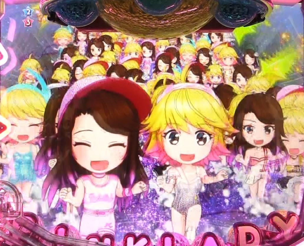 ぱちんこピンク・レディー 甘デジのピンクレディ群画像