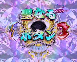 パチンコPクイーンズブレイド3 レイナVer.の聖なるボタンの画像