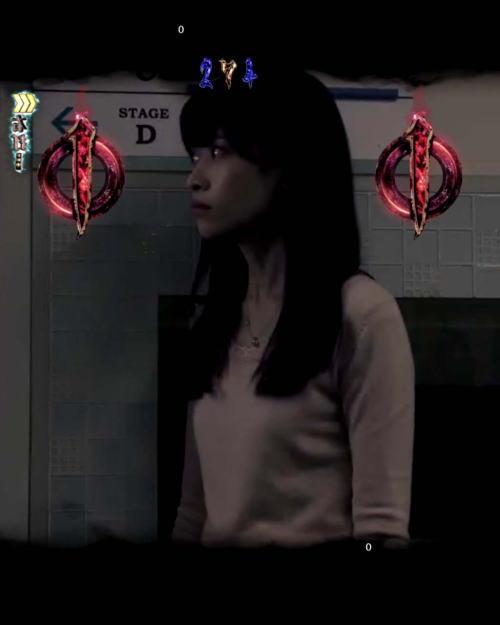 パチンコPAリング バースデイ 呪いの始まりFWCの女優モードの画像