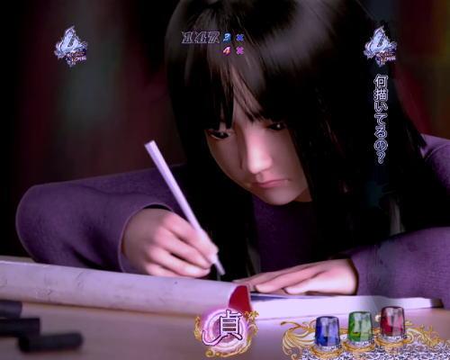 パチンコ P貞子3D2 Light ~呪われた12時間~の貞子リーチ