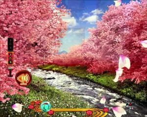 パチンコPフィーバー真花月2夜桜バージョンの音予告の画像