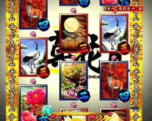 パチンコPフィーバー真花月2夜桜バージョンの遊タイムの画像