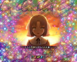 パチンコP閃乱カグラ2 パイまみれ99Ver.のアニメ全回転画像