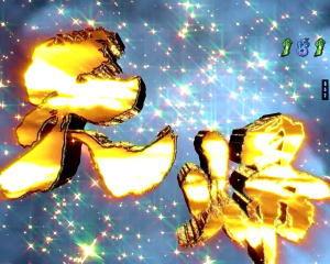 パチンコP蒼天の拳の天帰演出の画像
