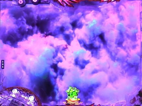 パチンコP蒼天の拳 天刻のフルストーム演出画像