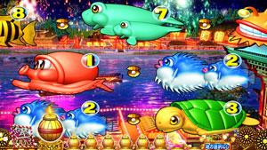 パチンコPスーパー海物語IN JAPAN2金富士 319Ver.お祭りモードの画像
