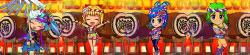 パチンコPスーパー海物語IN JAPAN2金富士 319Ver.櫓の上のキャラの画像