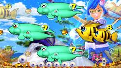 パチンコPスーパー海物語IN JAPAN2金富士 199Ver.ワリン流鏑馬リーチの画像
