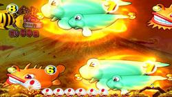 パチンコPスーパー海物語IN JAPAN2金富士 199Ver.テンパイあおりの画像