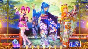 パチンコPスーパー海物語IN JAPAN2金富士 199Ver.3人娘の画像