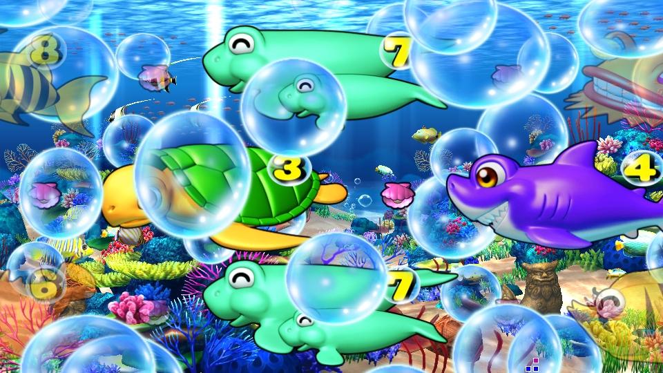 パチンコPスーパー海物語 IN 沖縄5の海泡の画像
