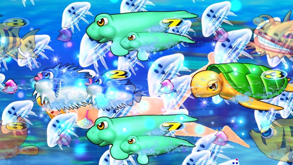 パチンコPスーパー海物語 IN 沖縄5のクラゲの画像