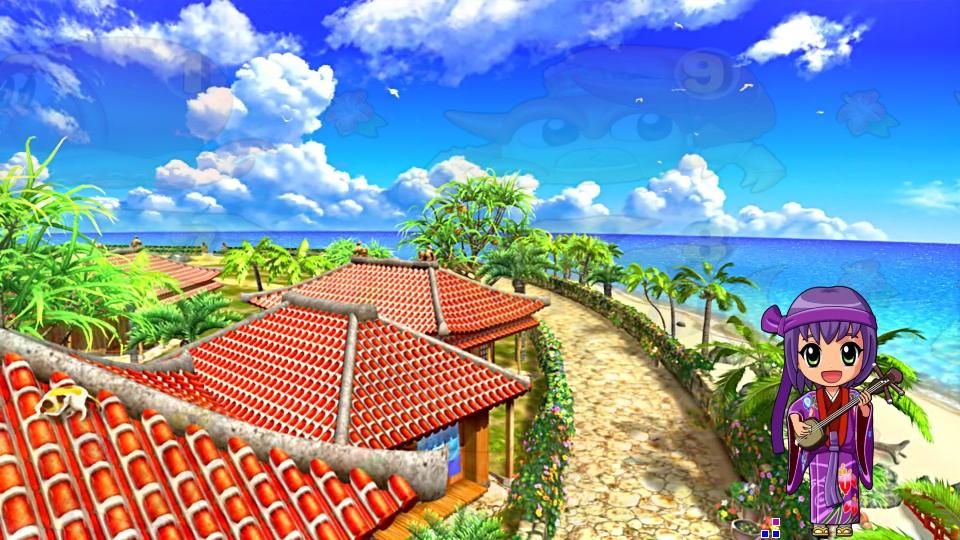 パチンコPスーパー海物語 IN 沖縄5の沖縄ステップの画像
