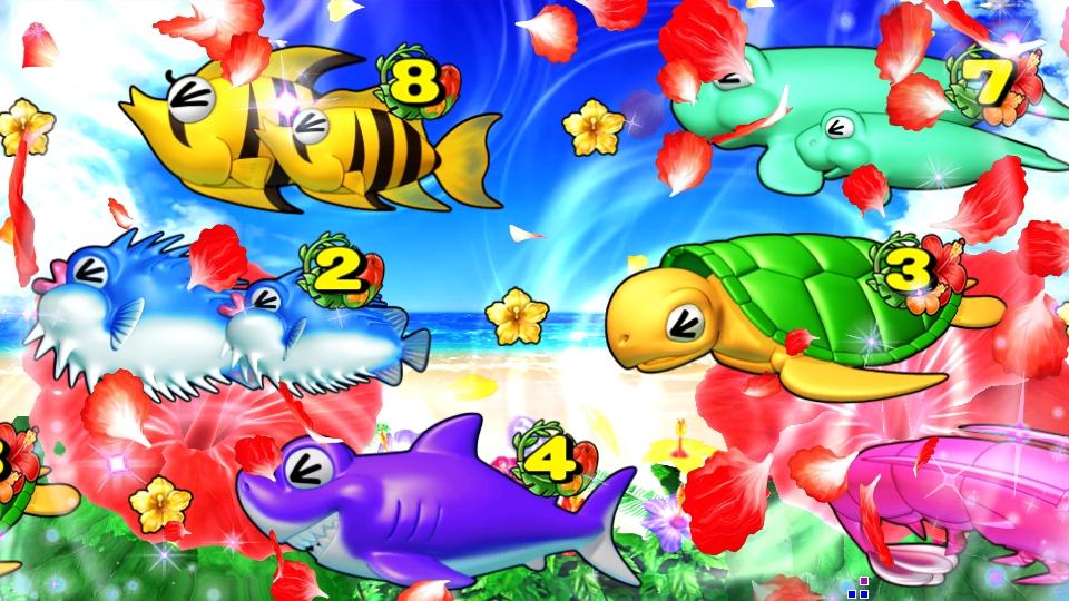 パチンコPスーパー海物語 IN 沖縄5のプリフリーズの画像