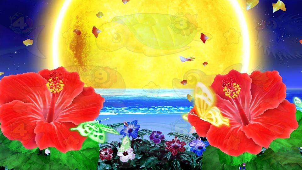 パチンコPスーパー海物語 IN 沖縄5の満月の画像