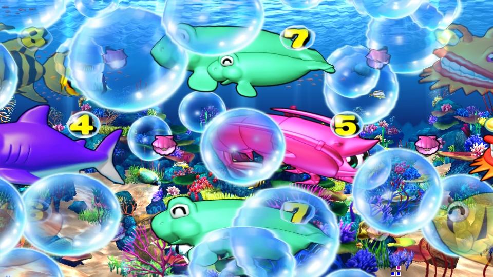 パチンコPスーパー海物語 IN 沖縄5の泡の画像