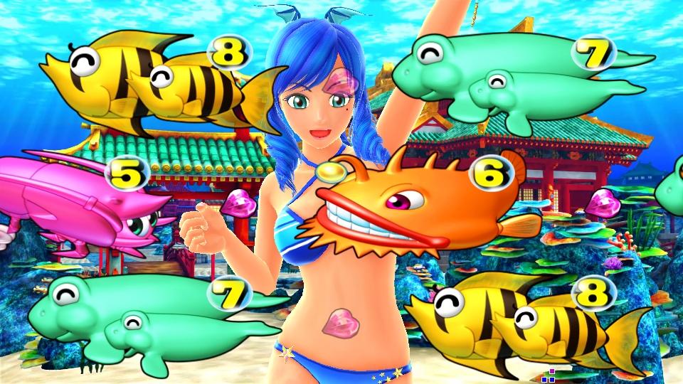 パチンコPスーパー海物語 IN 沖縄5のダブルワリンの画像