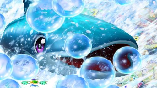 パチンコPスーパー海物語 IN 沖縄5 桜ver.199のじんべぇの画像