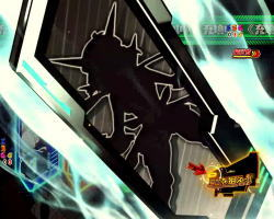 パチンコ シンフォギア2の最終決戦パネルシャッフルの画像