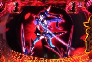 Pフィーバー戦姫絶唱シンフォギア2 1/230ver.の抜剣リーチの画像