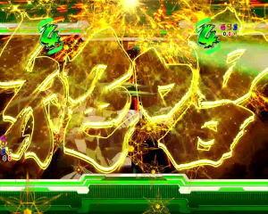 Pフィーバー戦姫絶唱シンフォギア2 1/77ver.の装者リーチ絶唱煽りの画像