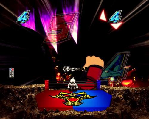 パチンコPフィーバータイガーマスクW Lightver.の見えざる敵を倒せ画像