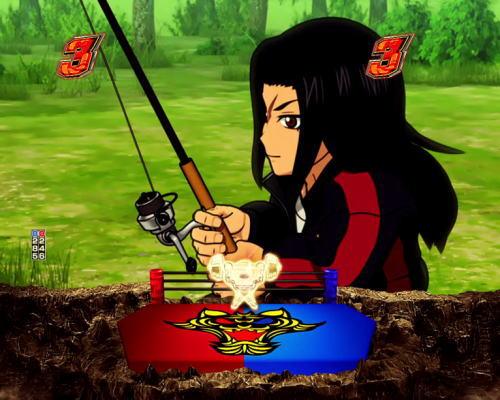 パチンコPフィーバータイガーマスクW Lightver.の池の女神画像