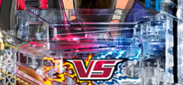 パチンコPフィーバータイガーマスクW Lightver.のリング役物の画像