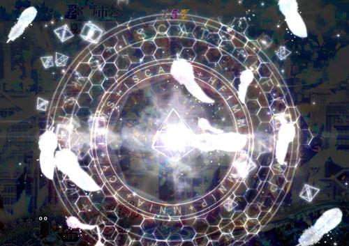 パチンコPとある魔術の禁書目録のギミック作動時の画像