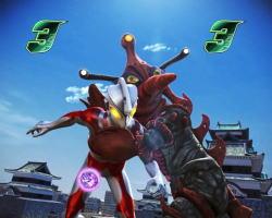 ぱちんこ ウルトラ6兄弟 Light Version Light Versionの強敵リーチの画像