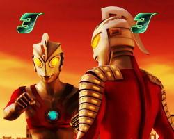 ぱちんこ ウルトラ6兄弟 Light Version Light Versionのセブン登場時の画像