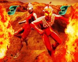 ぱちんこ ウルトラ6兄弟 Light Version Light Versionのセブンの画像