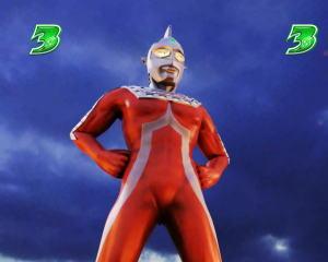 ぱちんこ ウルトラ6兄弟 Light Versionのセブン登場時のポインター出現時の画像
