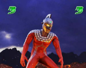 パチンコぱちんこ ウルトラ6兄弟 Light Versionの投石被弾時の画像