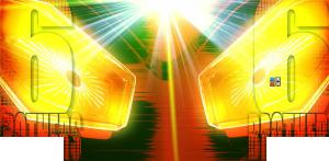 パチンコぱちんこ ウルトラ6兄弟 Light Version Light Versionのハイパー6兄弟フラッシュの画像