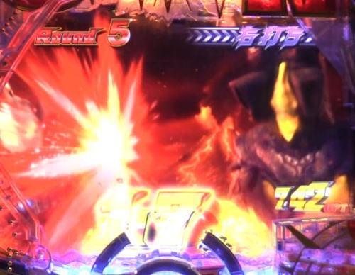 パチンコぱちんこ ウルトラマンタロウ2の怪獣攻撃時打撃音