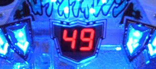 パチンコPワイルドロデオ6750だぜぇのミニセグ