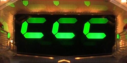 パチンコPワイルドロデオ6750だぜぇの8の字変動