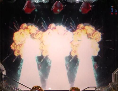 パチンコP宇宙戦艦ヤマト2202 愛の戦士たちの波動回転図柄昇格画像