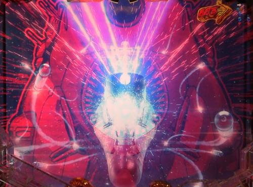 パチンコP宇宙戦艦ヤマト2202 愛の戦士たちの攻撃時エフェクト赤画像
