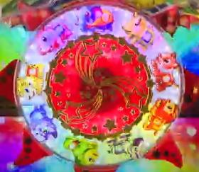 パチンコP野生の王国GO M-T YT800の太陽ギミック画像