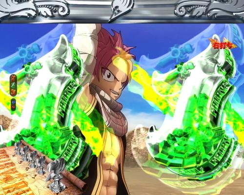 パチンコPA FAIRY TAIL2 JWAの魔法を燃やせ予告画像