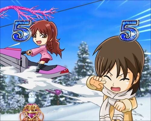 パチンコぱちんこ 冬のソナタ SWEET W HAPPY Versionのキャラクターリーチ