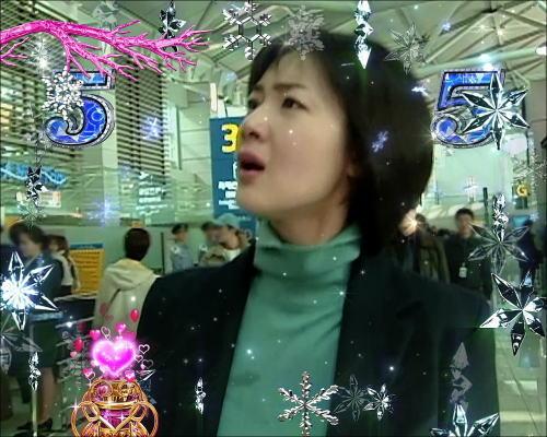 パチンコぱちんこ 冬のソナタ SWEET W HAPPY Versionの空港リーチ