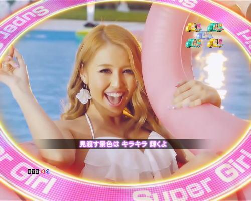 PAぱちんこ乗物娘77ver.のMVリーチSuper Girl画像