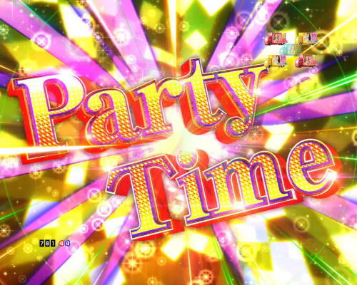 PAぱちんこ乗物娘77ver.のParty Time画像