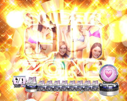 PAぱちんこ乗物娘77ver.のSUPER CJD ZONE画像