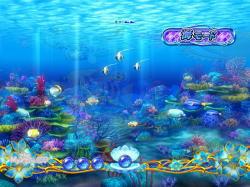 パチンコPAスーパー海物語IN地中海の海モードの画像