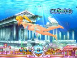 パチンコPAスーパー海物語IN地中海の海底神殿モードの画像