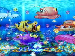 パチンコPAスーパー海物語IN地中海の明滅変動予告の画像